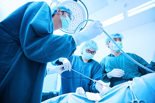 Now most of the urological surgeries can be done with laparoscopy